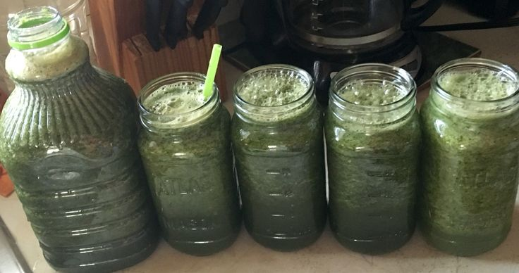 Green juice good for 1 week supply. Drink healthy eat healthy to be healthy you..