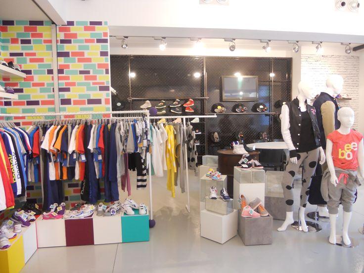 #reebok #jkrproductions #showroom #monza #setup #shoes #sport #colors #kids