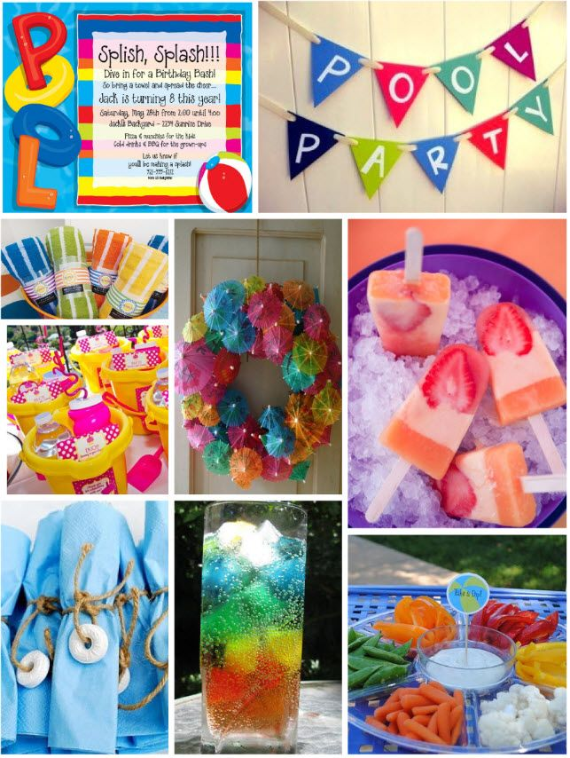 Pool Party Decorations Ideas birthday parties singapore style Pool Party Ideas Blog Pool Party Invitations Ideas