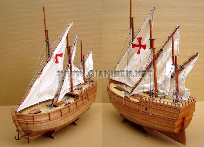 As everyone knows, Christopher Columbus had three ships on his first voyage, the Niáa, the Pinta, and the Santa Maria.