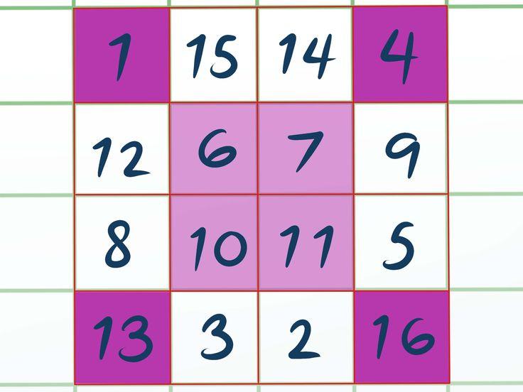 8 Best Magic Square Images On Pinterest Magic Squares Math