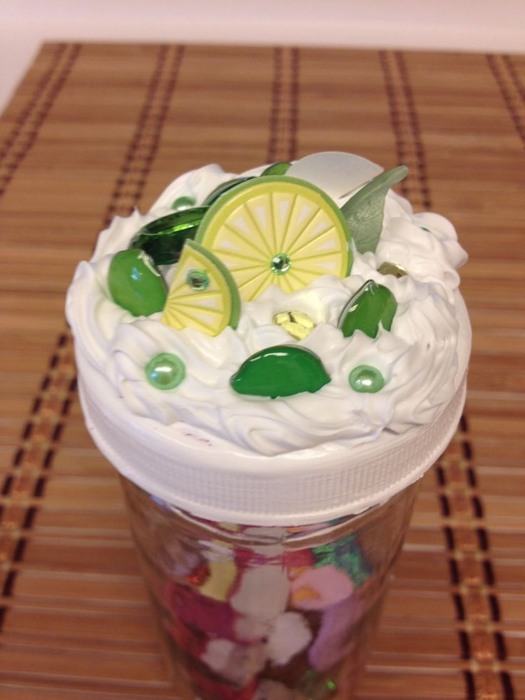 lime decoden jar top