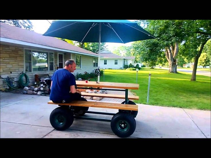 Gas Powered Picnic Table Diy Go Karts And More
