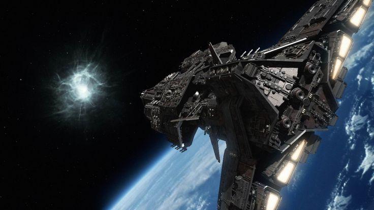 My Ancient Ship Orion (see more on http://www.tranchesdunet.com/galerie-de-vaisseaux-spatiaux/ )