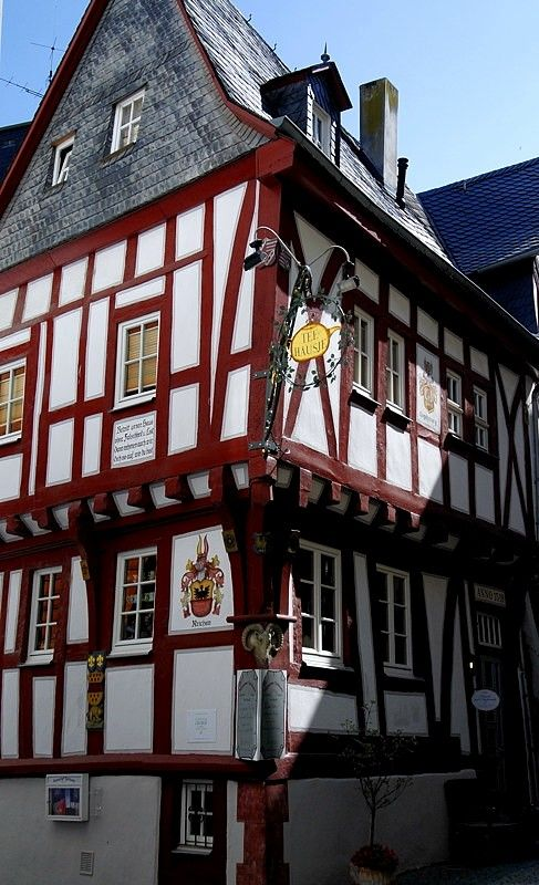 The Tea House (1590), Boppard, Germany Copyright: Laszlo Koenig