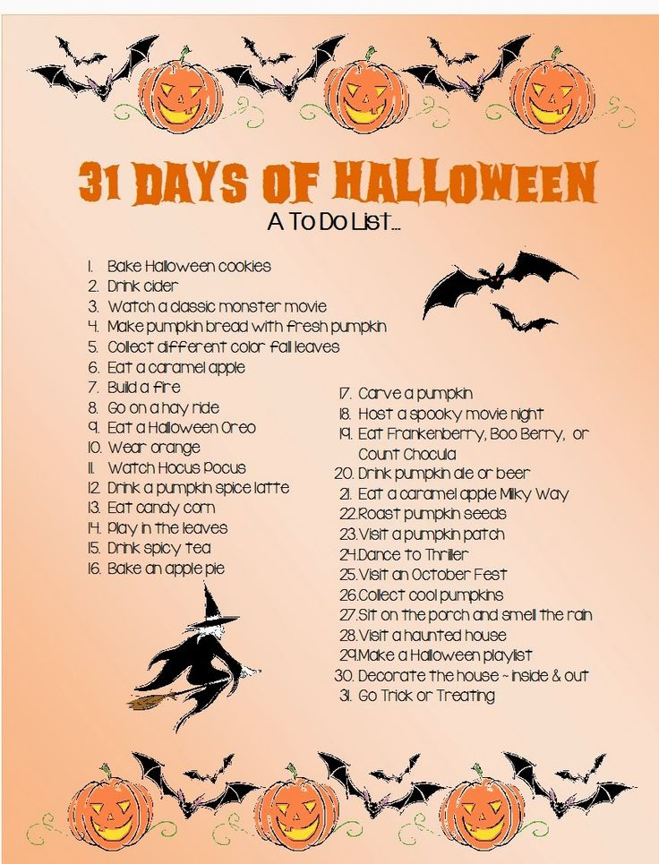 Do you believe that next week is October? That only means one thing...Halloween is a month away! There are so many things to do in the fal...