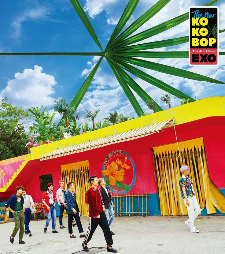 "EXO ""THE WAR"" From EXO OFFICIAL WEBSITE"
