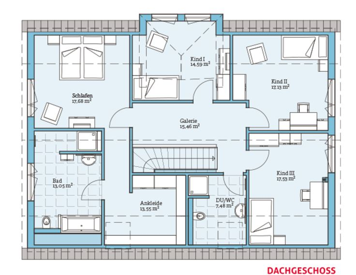 Die besten 17 ideen zu grundrisse auf pinterest haus for Zweifamilienhaus plan