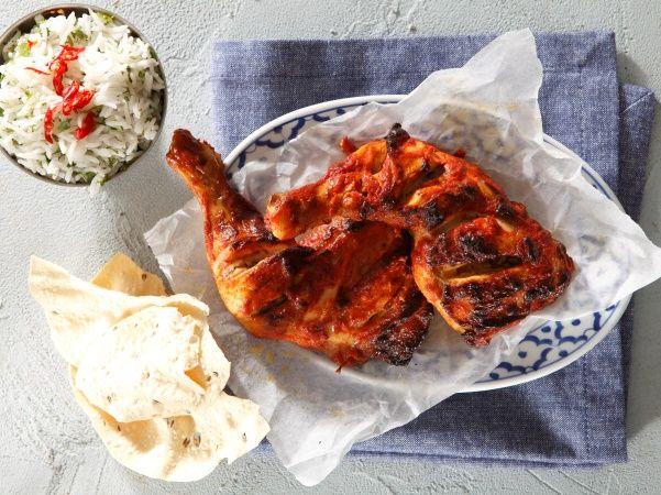 Curry on the coals: braai tikka chicken