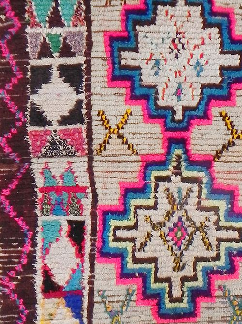Moroccan rug pattern