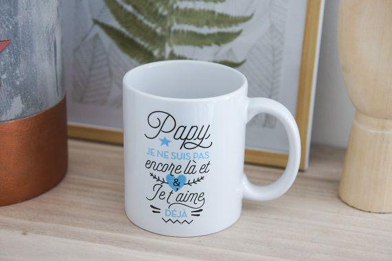 Parfait pour annoncer à votre papa, beau-père quil va être Papy ! Il se rappellera chaque jour en buvant son café, quel beau moment il a vécu. Tout