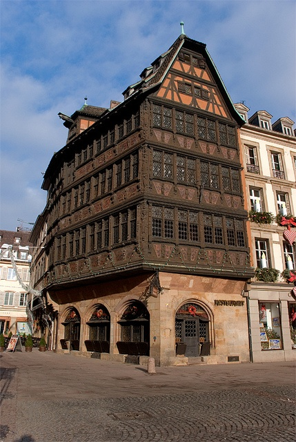 France,Alsace,Strasbourg,Maison Kammerzell (next to the cathedral)by StefanoPiemonte, via Flickr