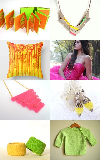 Neon Fashion by The Magic of Colors