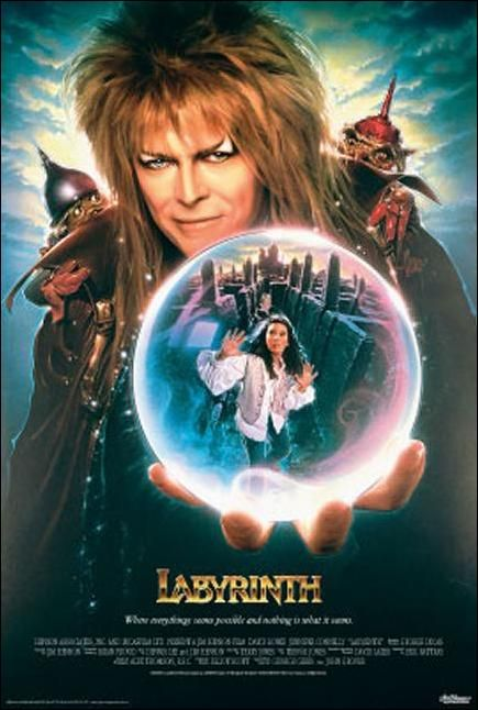 Labyrinth... One of my all-time favorites to share with young kids.  You remind me of a babe. What babe? The babe with the power. What power? The power of voodoo. Who do? Do what? Remind me of a babe!