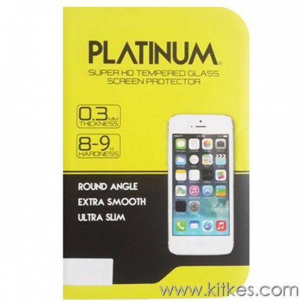 Platinum Tempered Glass Samsung Galaxy Alpha - Rp 130.000 - kitkes.com
