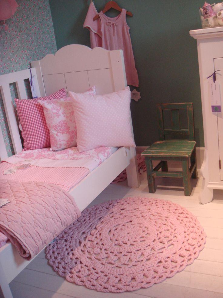 Roze meisjeskamer #kinderkamer | Pink girl's #kidsroom