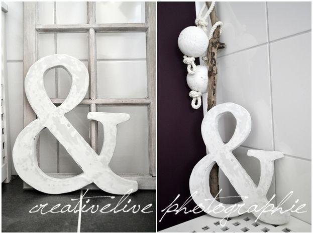 creativLIVE: DIY (Beton-) Buchstaben aus Styropor