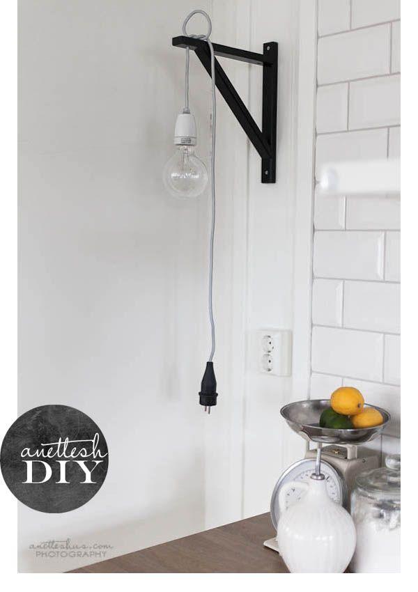 DIY: Una Lampara De Estilo Nórdico. Ikea LampBedside ...