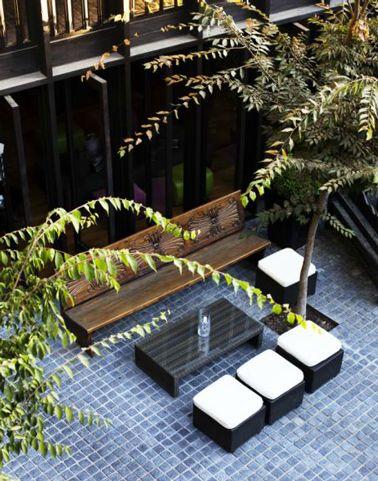 19 best terrasse carrelage images on Pinterest Decks, Balconies - peinture terrasse beton exterieur