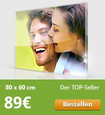 Acrylglas-Foto Angebot 80x60
