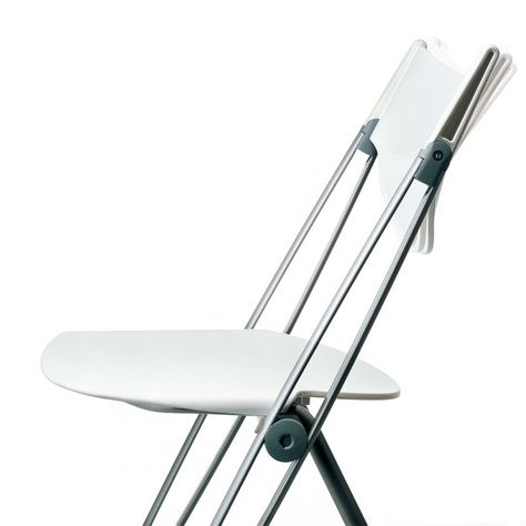 Multipurpose #seats equipped with a self-adjustment mechanism for #backrest inclination. #Design by Lucci & Orlandini.