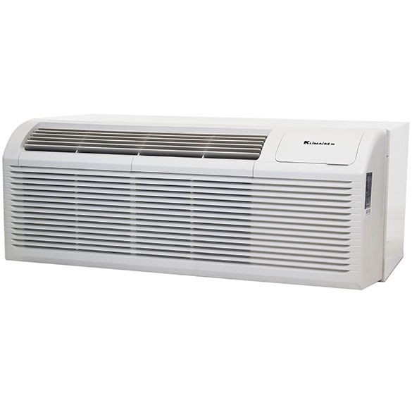 12 000 Btu Klimaire Pthp Heat Pump Wall Sleeve Stamped Aluminum Grille 3 5 Kw Electric Heater 10 5 Eer Heat And Cool Household Appliances In 2020 Electric Heater