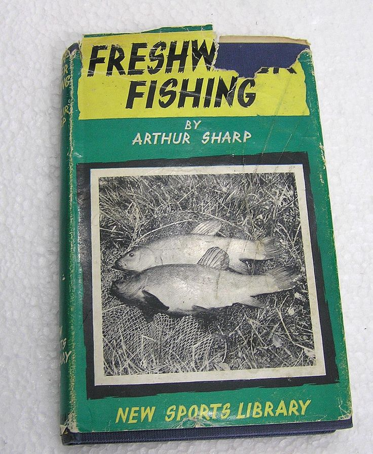 Freshwater Fishing. A Practical Guide to Fishing on River, Lake and Stream Author is Arthur Sharp 1960 by LakeDistrictEphemera on Etsy