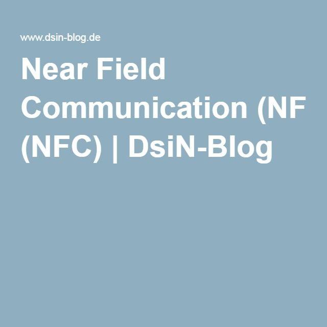 Near Field Communication (NFC) | DsiN-Blog