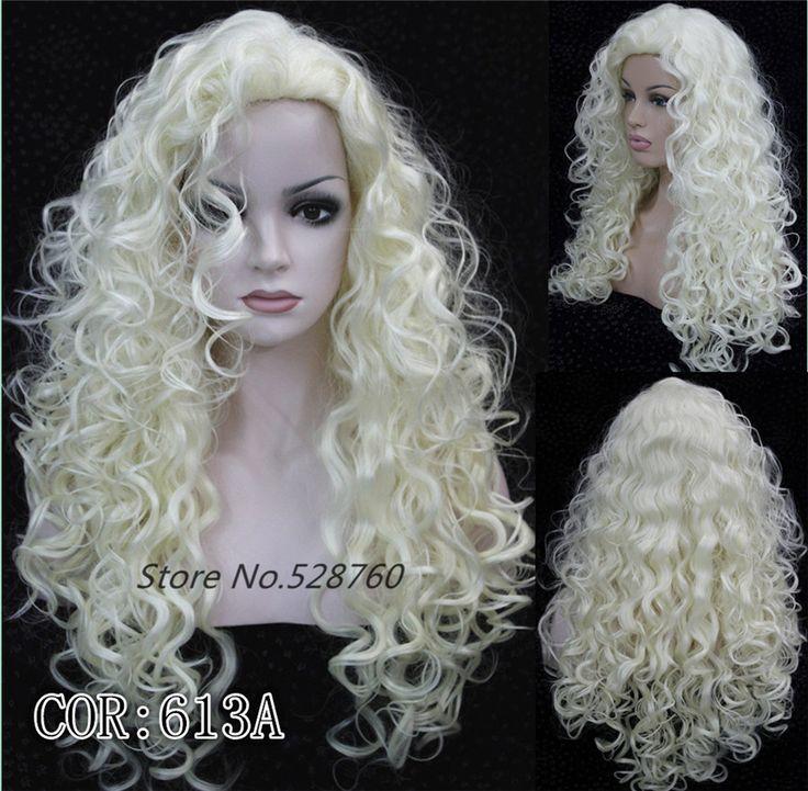 Дамы сексуальные Длинные Синтетические Вьющиеся светлые Волосы Парик 9 цвет опции женщины длинные волнистые парики Бесплатная доставка