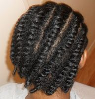 Naturally Fierce: Flat Two-Strand Twist Out: Revisited