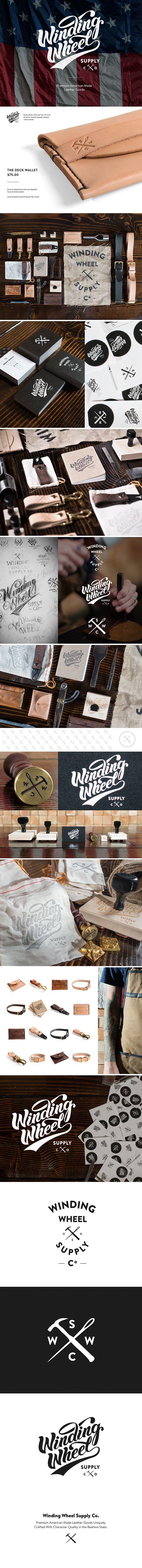 Winding Wheel Supply Co on Behance