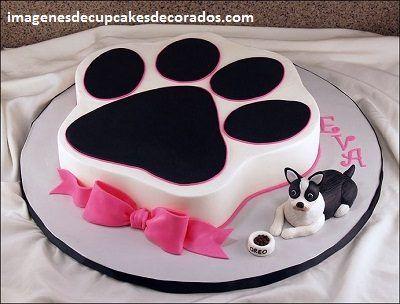 Resultado de imagen para imagenes de pasteles en forma de perro