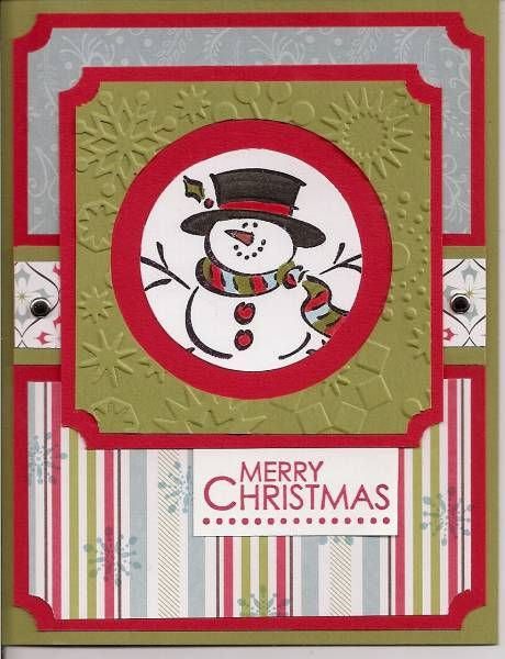 Frosty by babystampin - Cards and Paper Crafts at Splitcoaststampers
