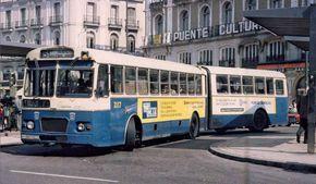 Autobús urbano articulado Pegaso 6035-A (22 de enero de 1966)