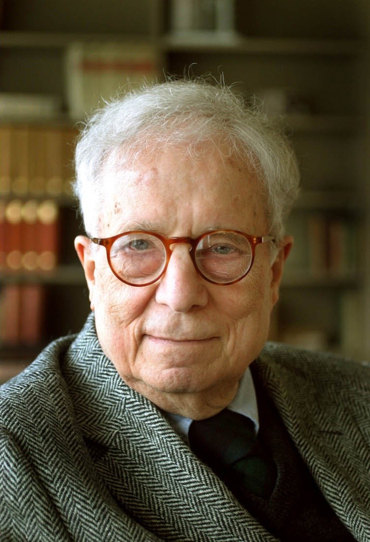 This is Robert Venturi, a well known architect for the Postmodern Era. He  was
