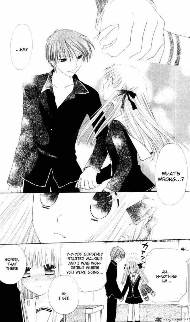 So adorable Kyo x Tohru Fruits Basket Pinterest