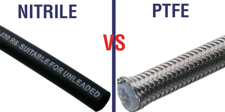 The difference between PTFE and Nitrile Rubber Hoses