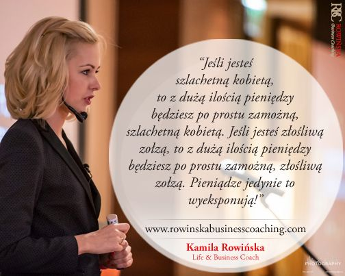 Inspirująca myśl. Zapraszamy na http://www.KobietaNiezalezna.pl