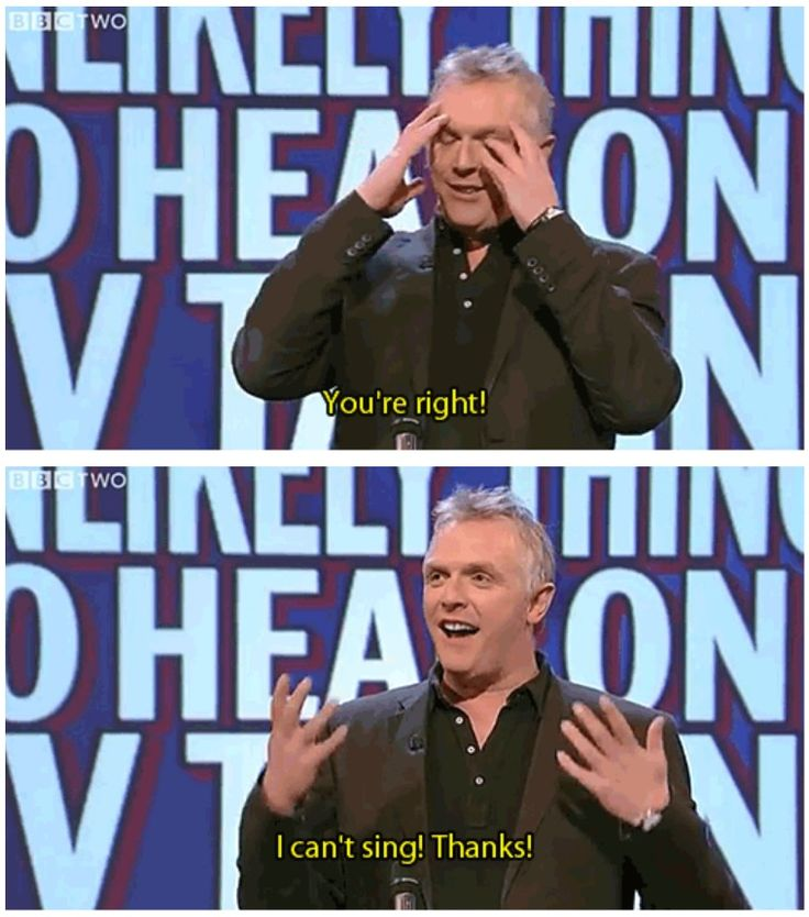 Unlikely things to hear on a TV talent show | Greg Davies | Mock the Week