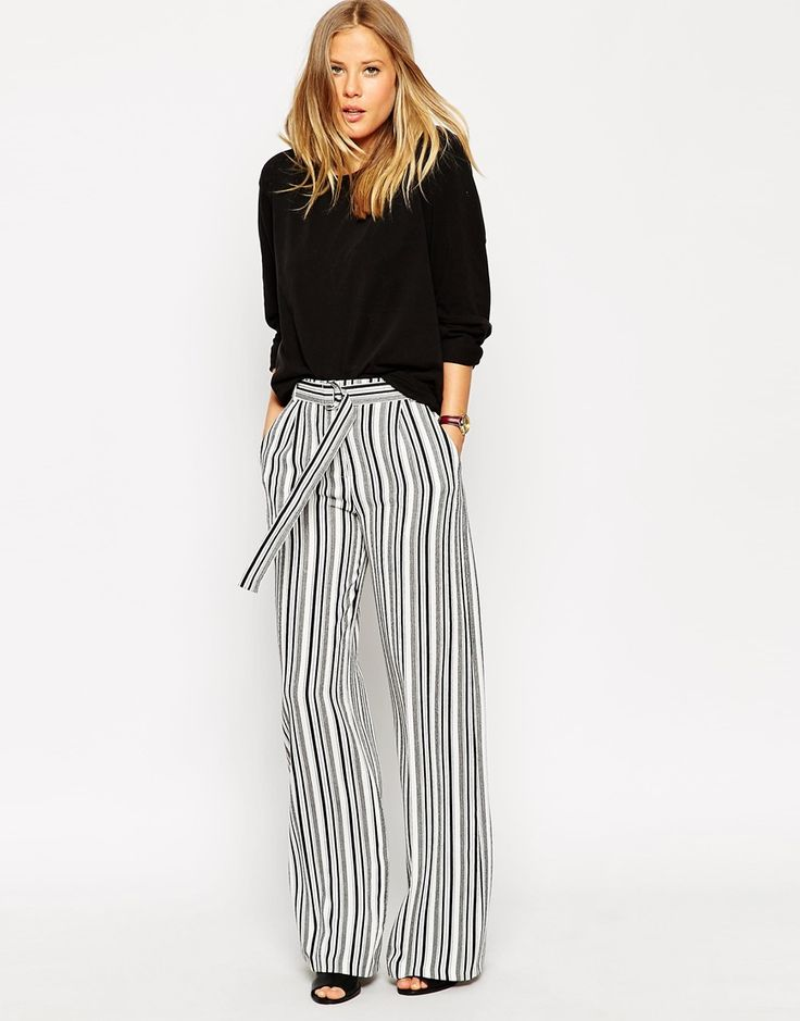 1000  images about Styling | Wide-Leg Trousers on Pinterest ...