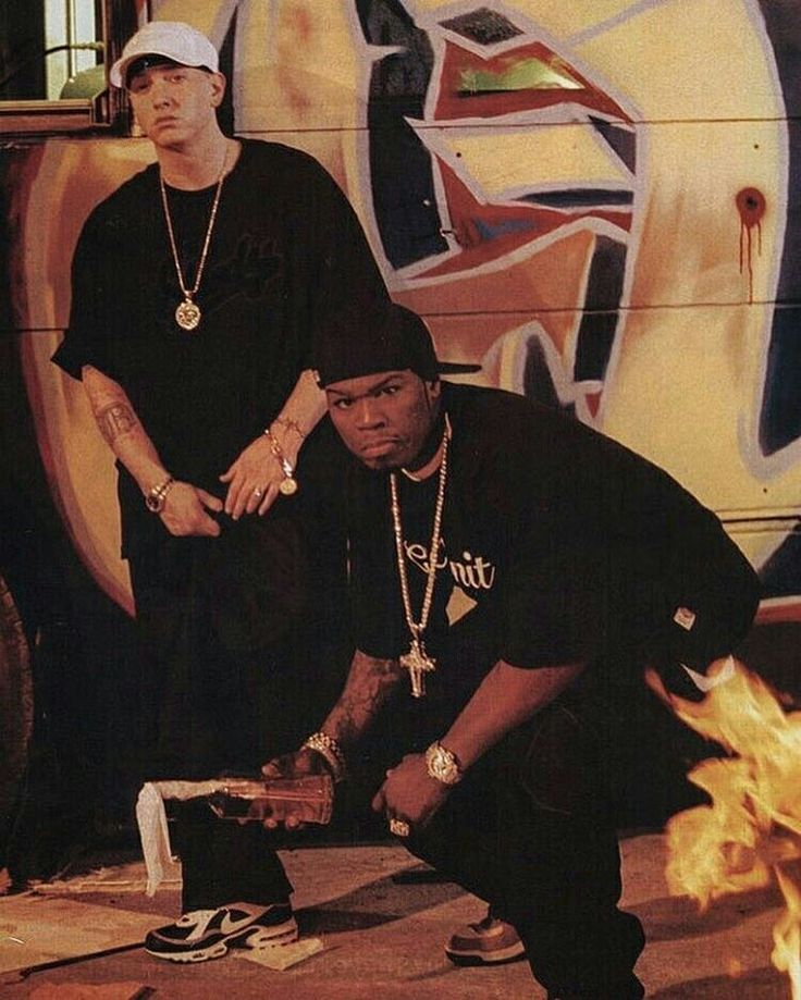 Eminem and 50 Cent