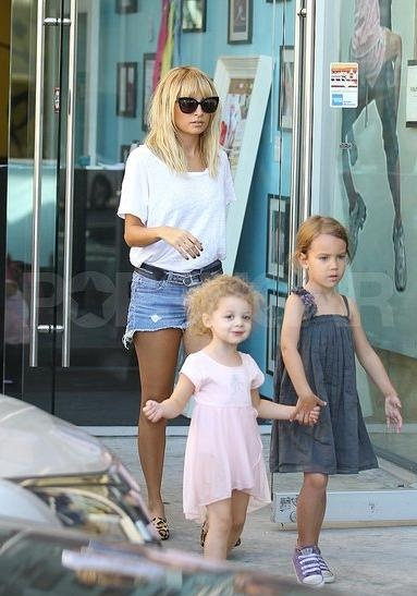 Wearing cut-off jean shorts and leopard print heels should preclude a person from being a parent. Of course, it should also preclude a person from having a fashion line, and Nicole Richie has two of those, too.  -Courtesy of Suri's Burn Book  http://surisburnbook.tumblr.com/