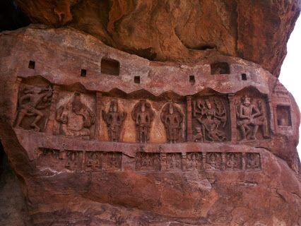 #Badami #Chalukya #Karnataka #India #Sculpture #Temple #Mythology