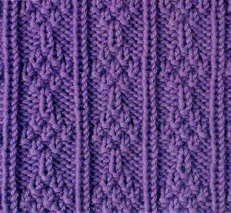 100+ best Knitting stitches: knit purl images by La Visch Designs on ...