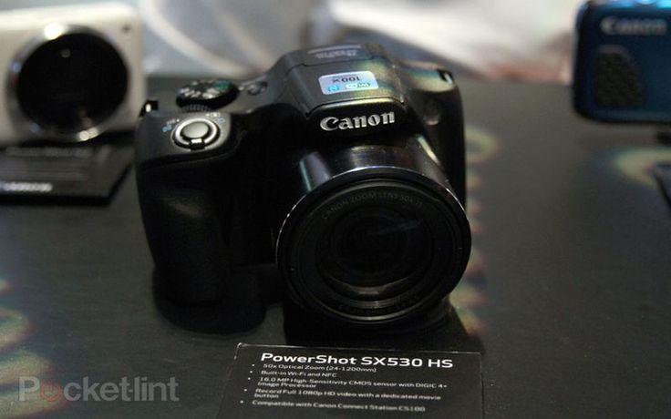 Canon Tampilkan Kamera Super Zoom di CES 2015