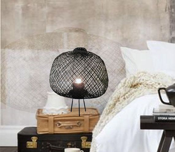 Bedside Table lamp Table lighting Table lamp by themaisoncraft