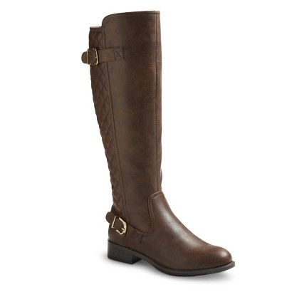 Brown riding boots. Target.com only $39.99!! Perfect casual boot.