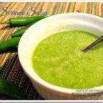 Raw Serrano Pepper Sauce / Salsa Cruda de Chile Serrano