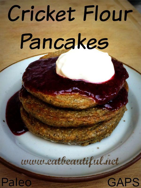 Cricket Flour Pancakes & Waffles