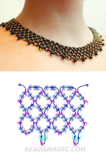 Collar artesanal de cuencas 6